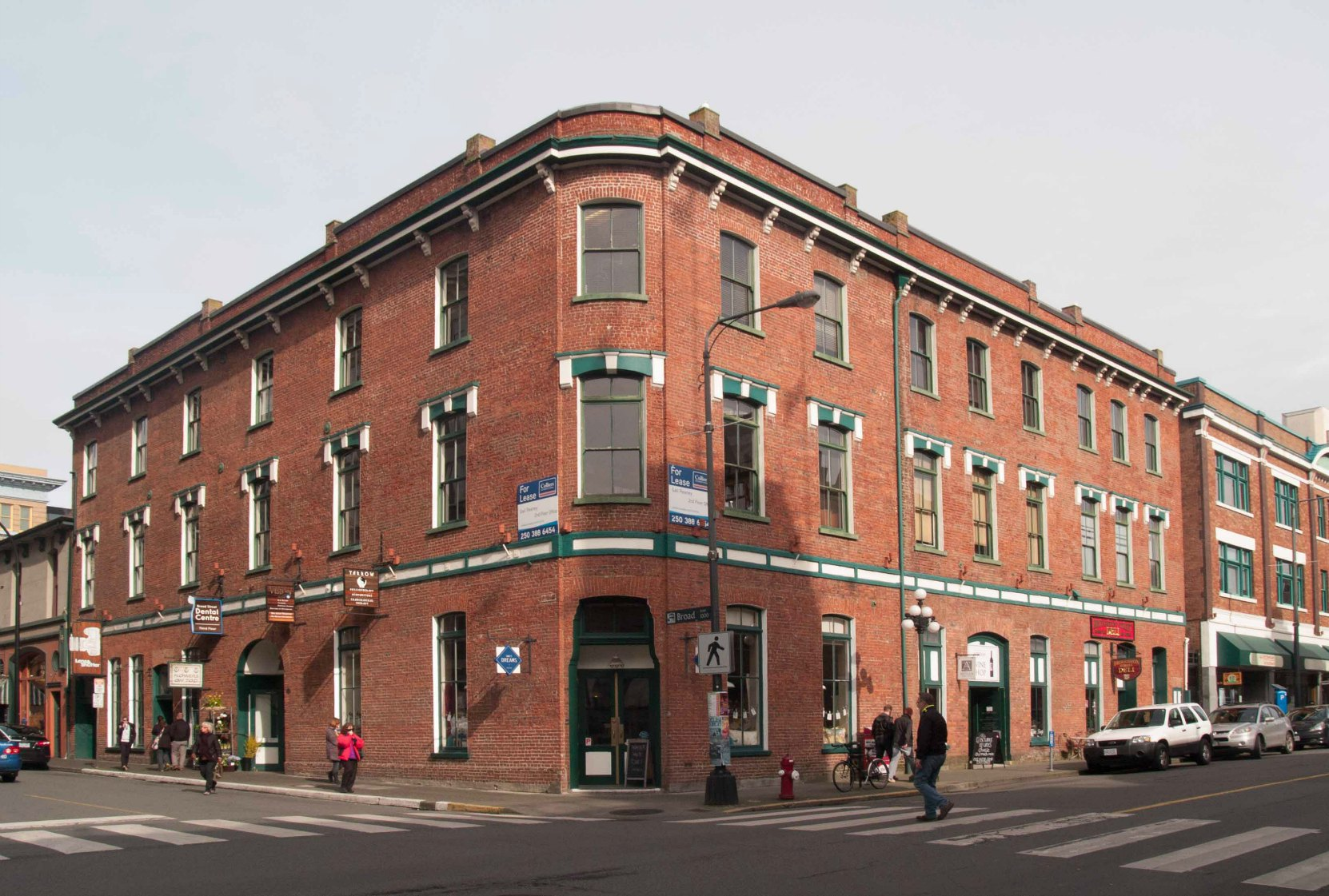 Weiler Building, now known as the Counting House, Victoria, B.C, Built by John Weiler as a warehouse, showroom and manufacturing facility for his furniture business (photo by Temple Lodge No. 33 Historian)