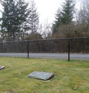 Alpheus Ashley grave, Mountain View Cemetery, North Cowichan (photo by Temple Lodge No. 33 Historian)