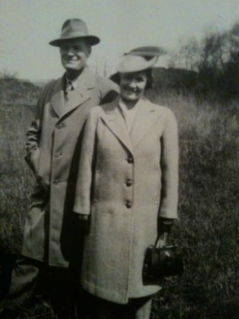 Charles Kennedy Van Norman and his wife, circa 1940 (photo courtesy of J. Wright. Private collection, used with permission)