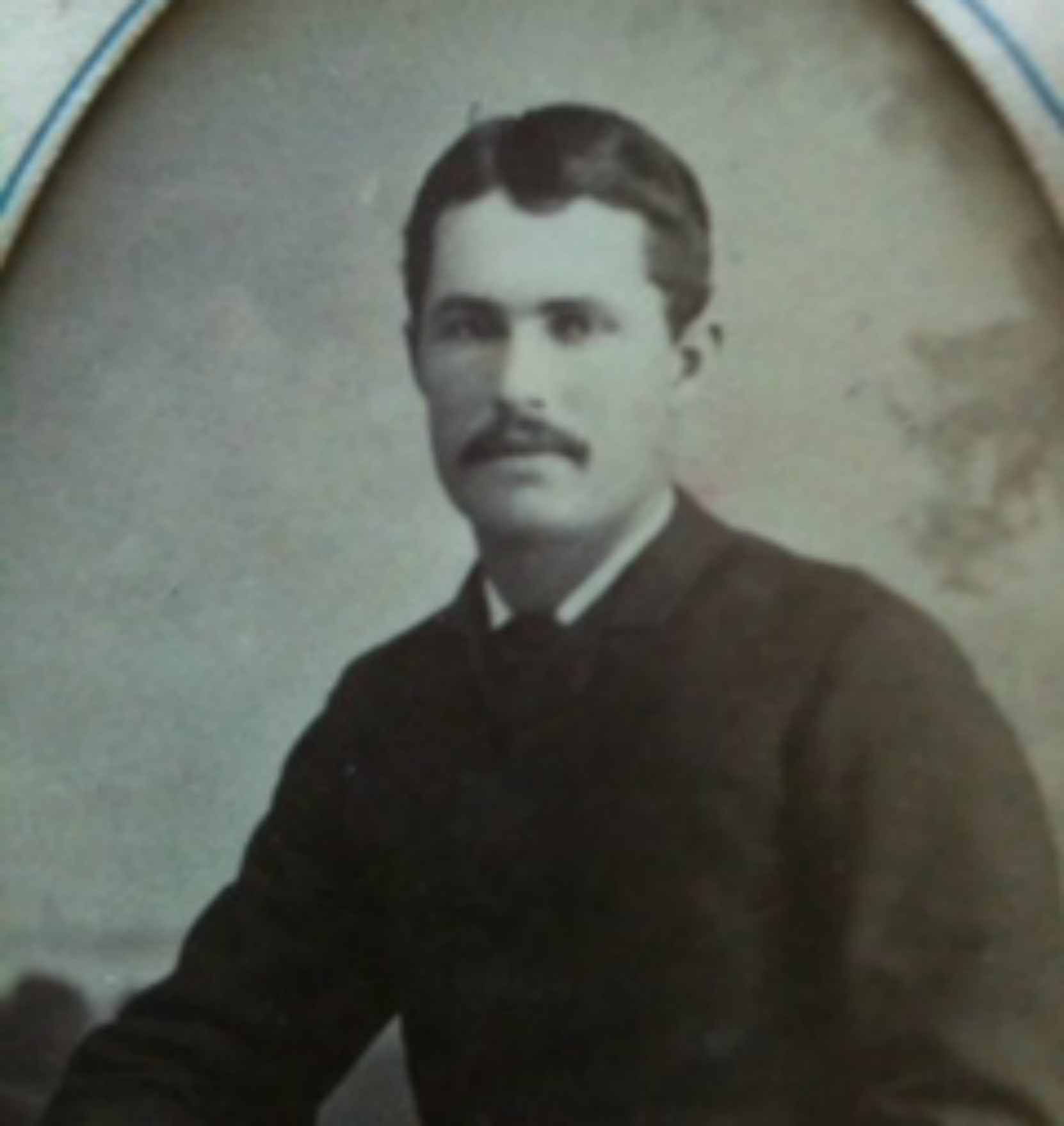Isaac Newton Van Norman, circa 1890 (photo courtesy of J. Wright. Private collection, used with permission)