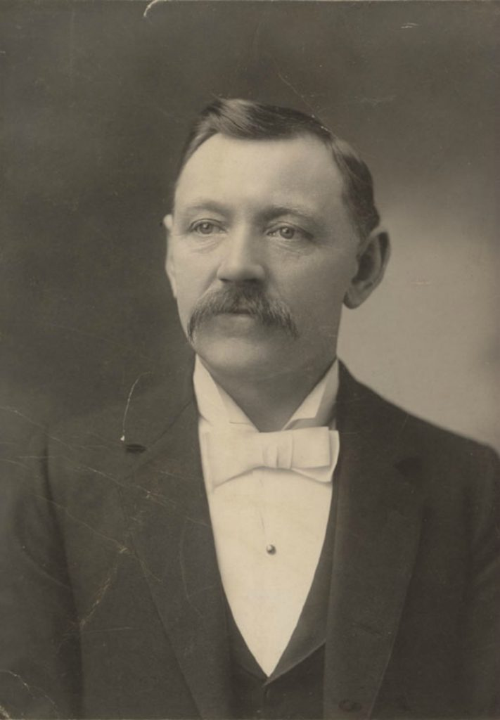 Anton Henderson (1853-1950) circa 1903 (photo courtesy of Saanich Archives)