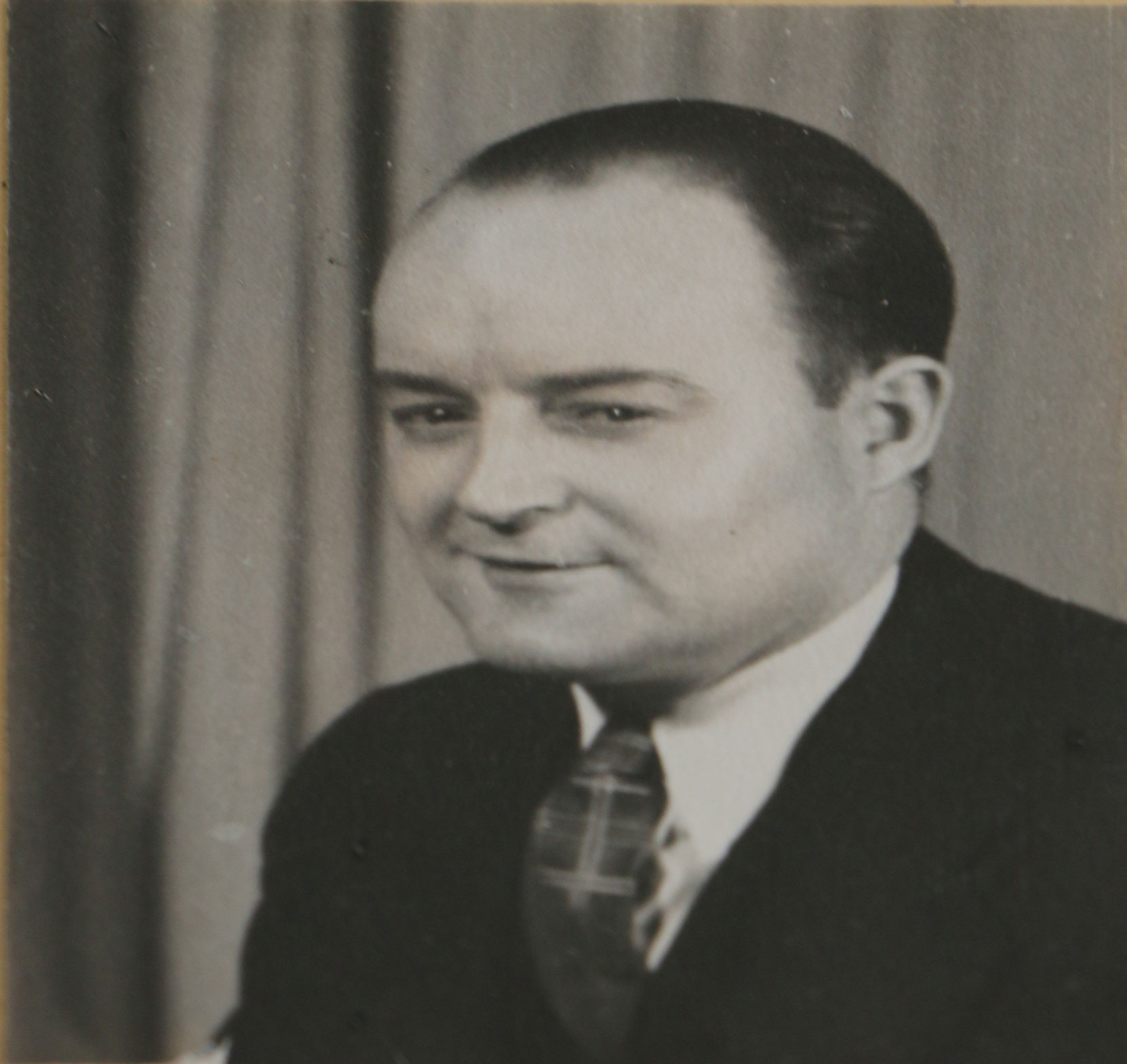 Walter Maxwell Hudson in 1939 (photo courtesy of Duncan Volunteer Fire Department)