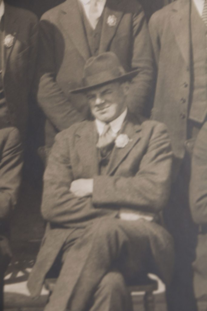 James Farley Lequesne in 1926 (photo courtesy of Duncan Volunteer Fire Department)