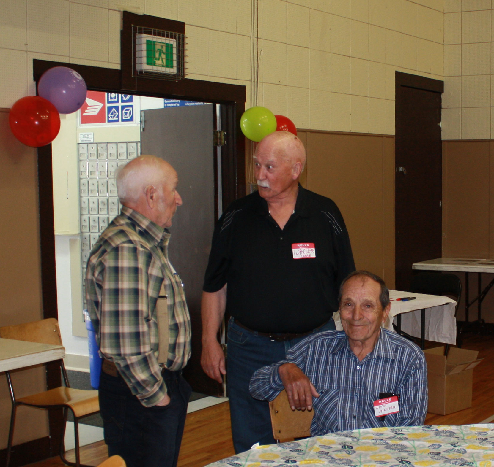 Bob Crawford at the Hillcrest Lumber Co. Employees Reunion in May 2018. (photo courtesy of Cecil Ashley)