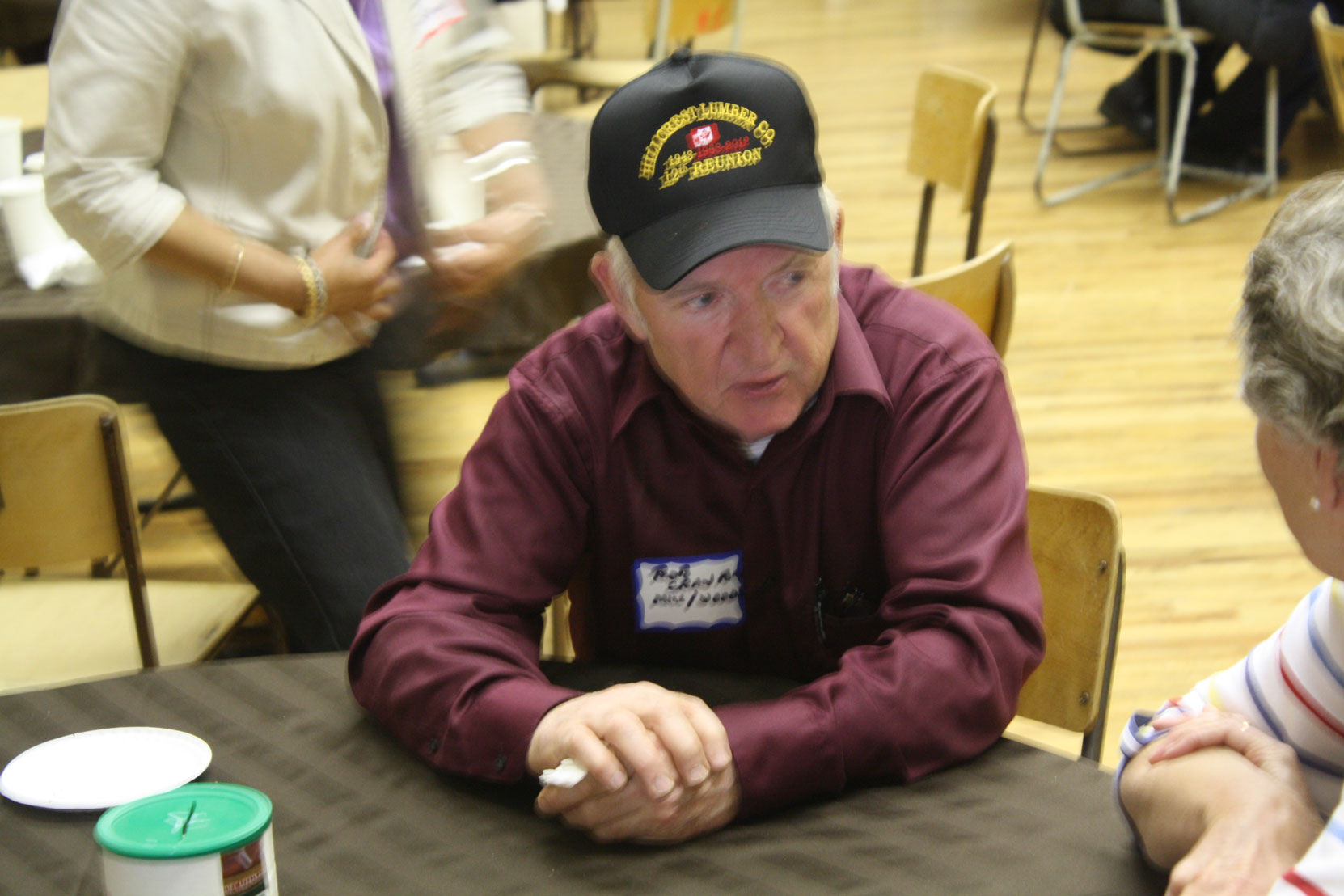 Bob Crawford at the Hillcrest Lumber Company Employees Reunion, 2012. (photo: Cecil Ashley)