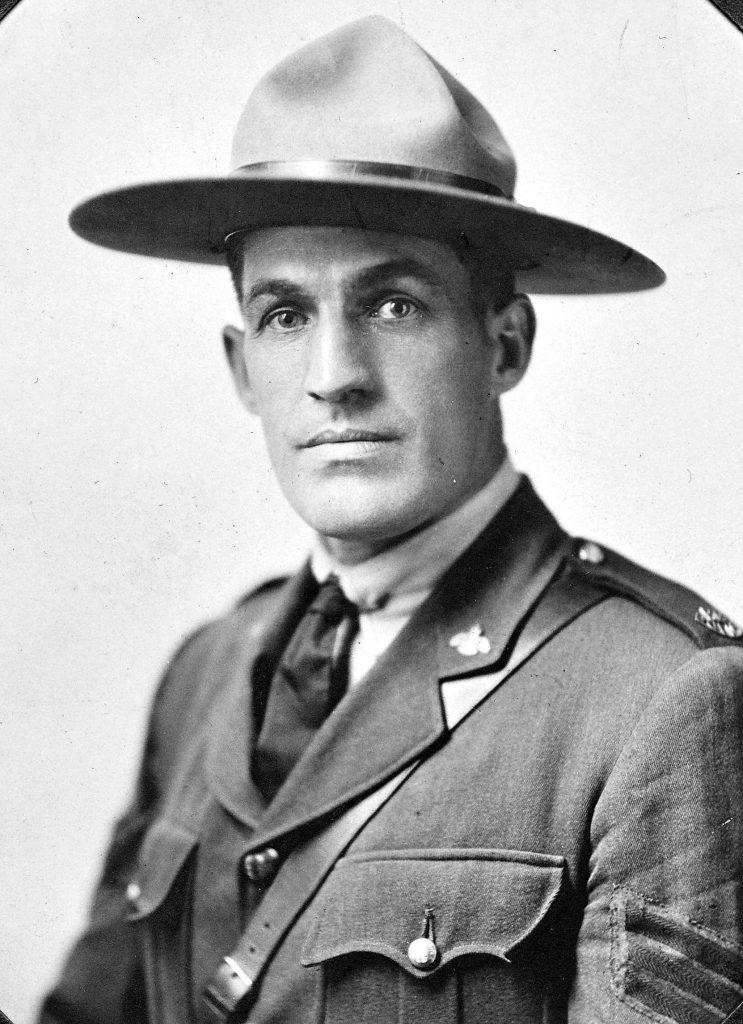 William Kier in BC Provincial Police uniform, circa 1930 (photo courtesy of Larry Kier - private collection)