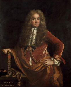 Elias Ashmole (1617-1692) (image: Ashmolean Museum)