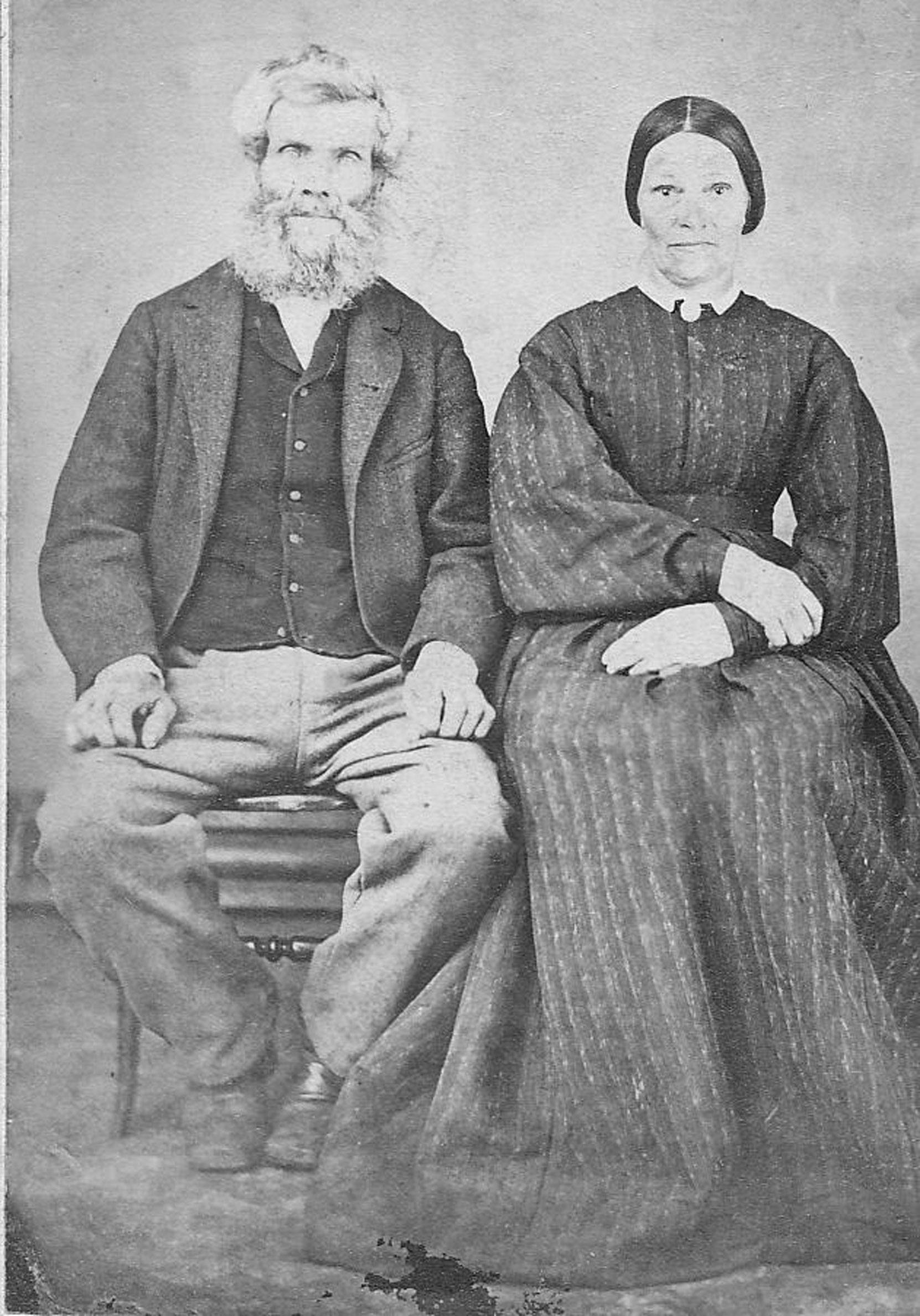 Archibald Renfrew Kier and Mary Jane Kier (photo: Larry Kier - family collection. Used with permission)