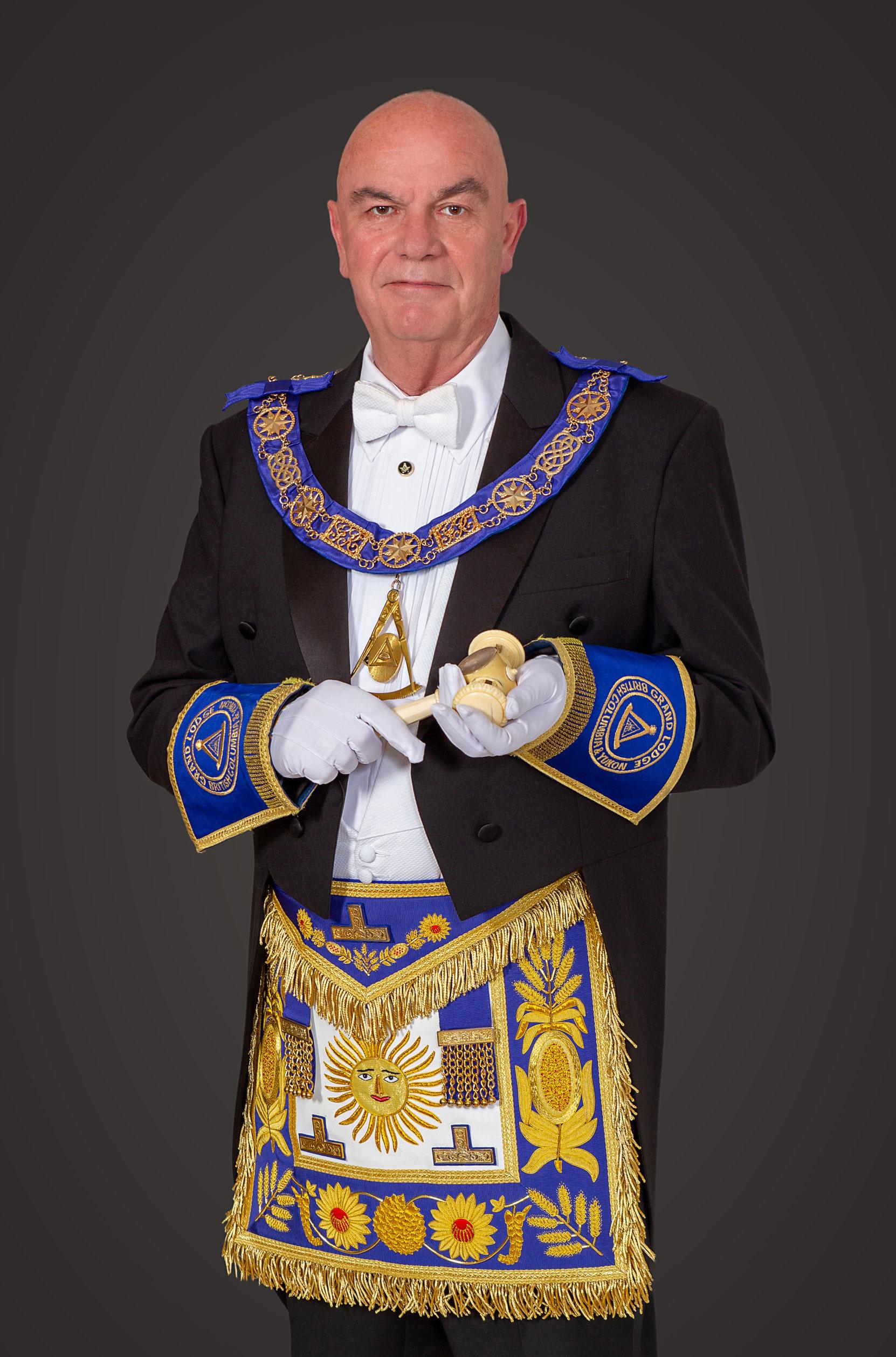 M.W.B. Don MacKenzie, Grand Master, B.C. & Yukon, 2020-2021.